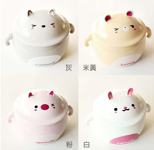 AWANA-動物陶瓷湯碗