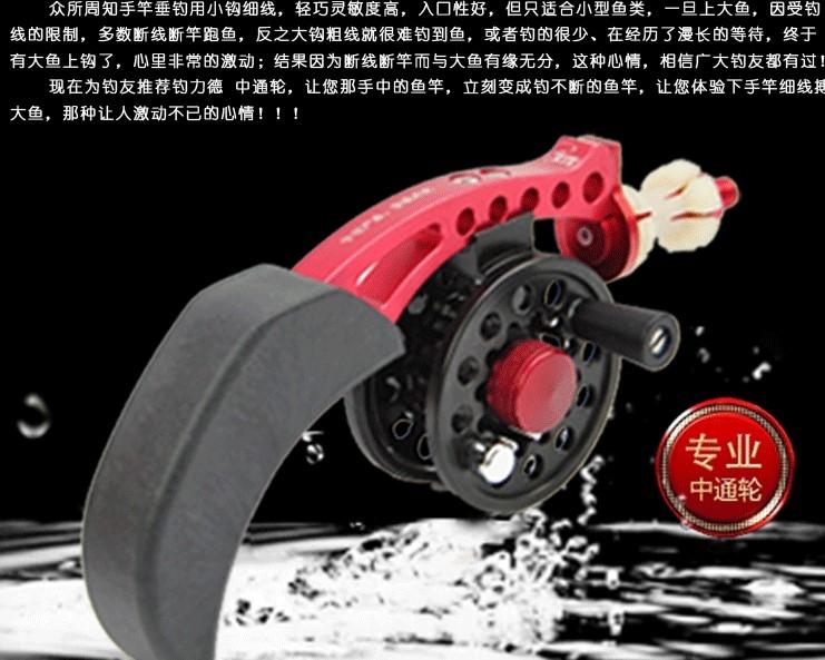 協貿國際中通全金屬輪漁輪帶輪座