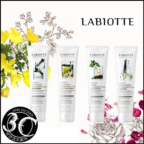 韓國LABIOTTE自然精靈系列洗面乳150ml條潔面乳洗臉清潔甘仔店3C配件