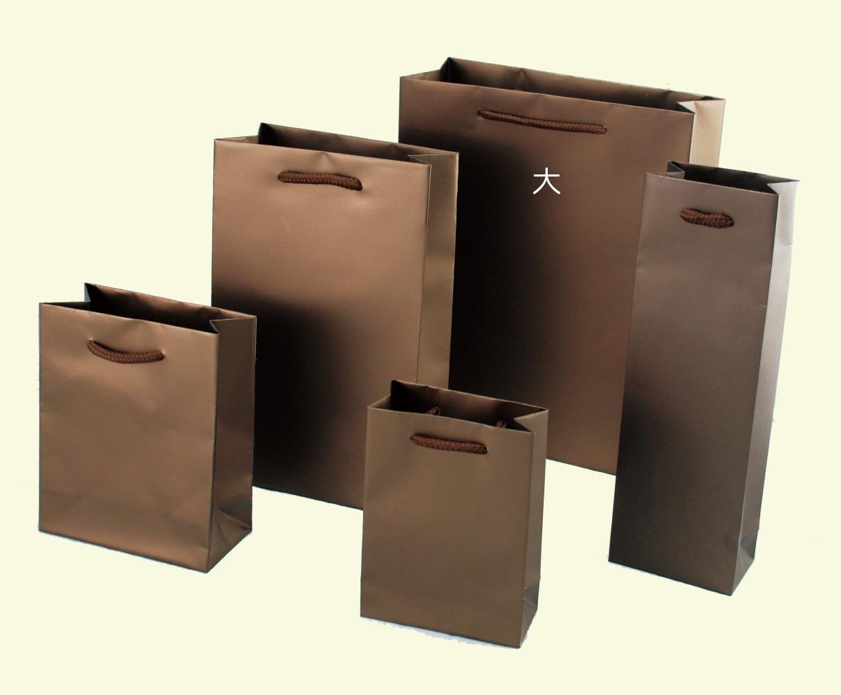 紙袋-質感咖啡款
