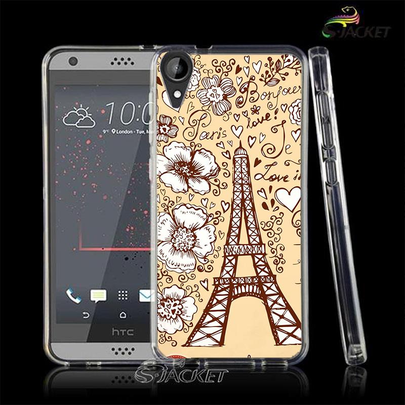 3C膜露露花花鐵塔軟殼HTC Desire 10 Lifestyle手機殼手機套保護套