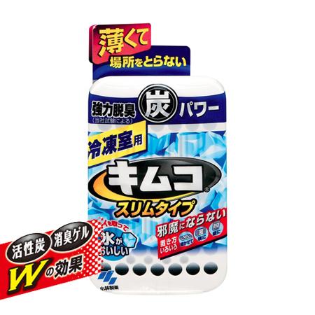 日本 小林製藥 冷凍庫除臭劑(超薄) 26g 活性炭 冰箱除臭 消臭劑 脫臭 金克凍炭 Kimco