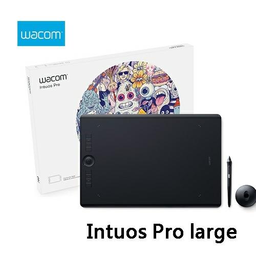 Wacom和冠Intuos Pro large專業繪圖板PTH-860 K0-CX大尺寸觸控無線繪圖板