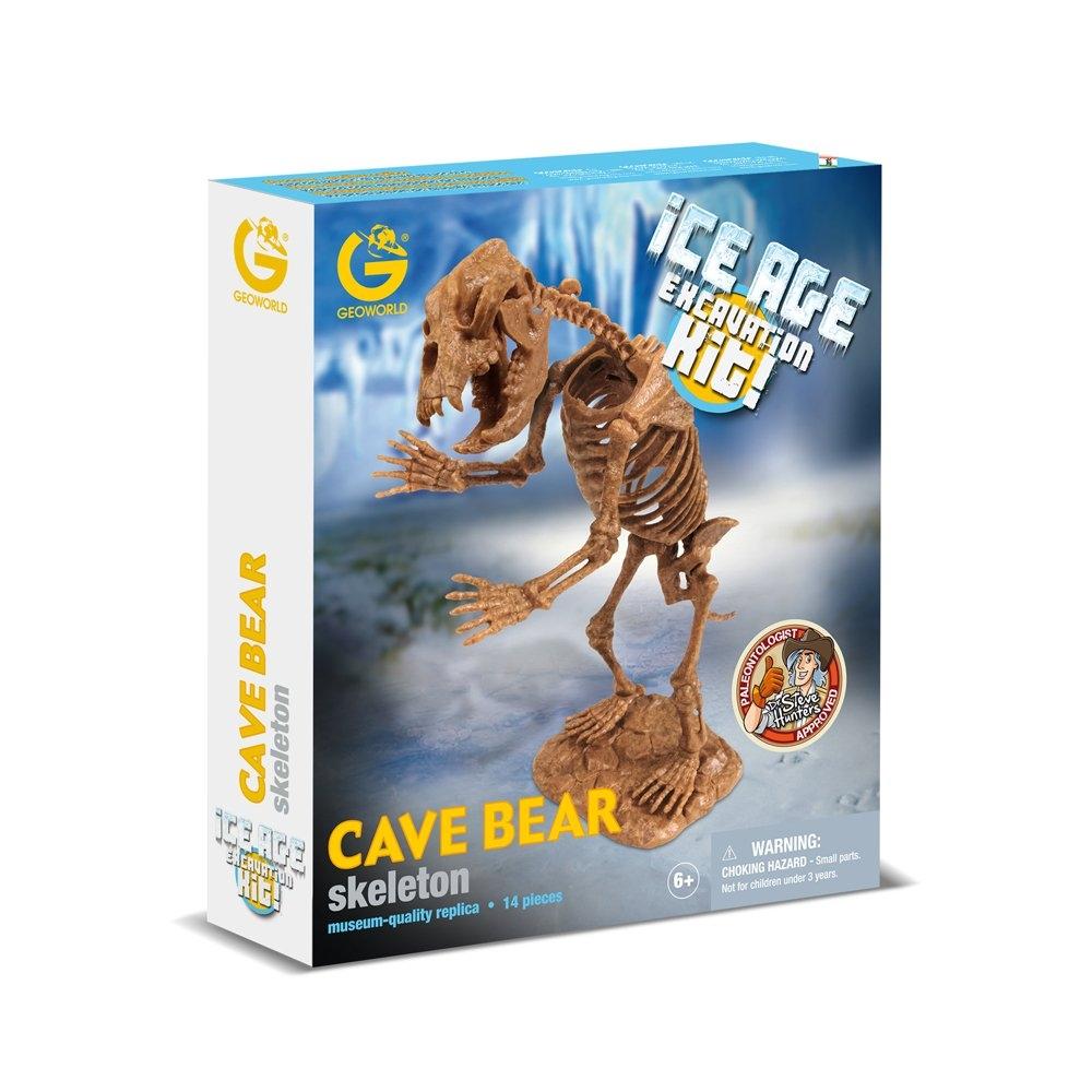 義大利 GeoWorld CL748K冰河挖掘系列-洞熊