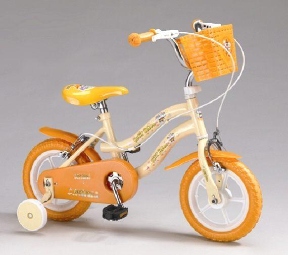 親親 12吋腳踏車橙色-河馬 QW1250Y [仁仁保健藥妝]