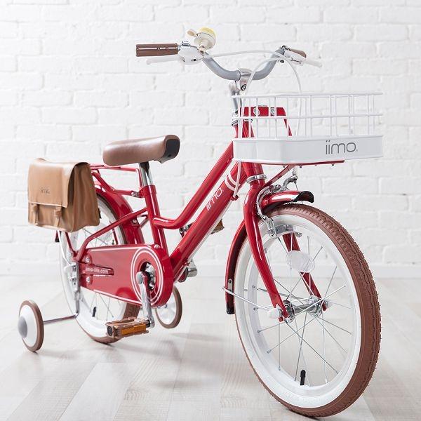 日本iimo兒童腳踏車16吋-經典紅~麗兒采家