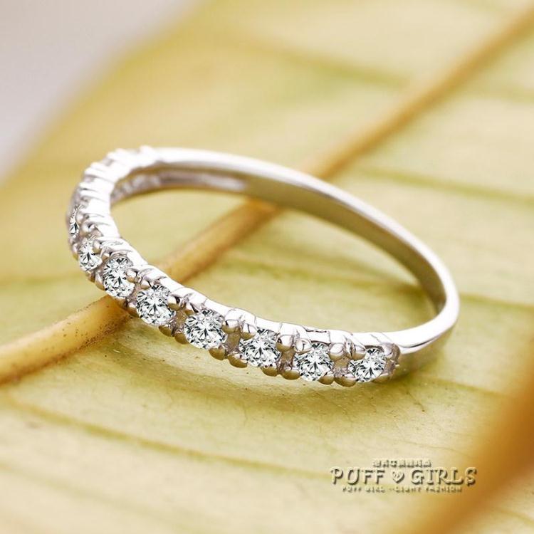 戒指戒指女食指戒子一生一世韓版潮人指環尾戒首飾