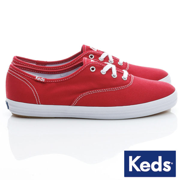 Keds 女款紅色經典帆布鞋-NO.KB5588