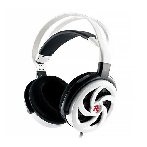 Tt eSports曜越震撼者颶風版光亮白SHOCK Spin HD虛擬7.1立體聲道電競耳機玩具