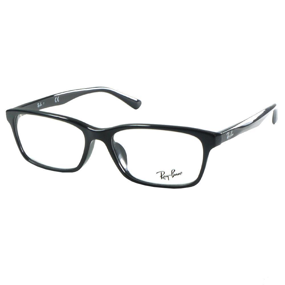原廠公司貨-【RAY BAN雷朋眼鏡 】RB5318D-2000-光學眼鏡-亮黑