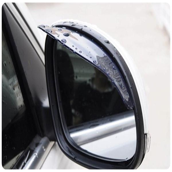 【後視鏡擋雨板】2入對裝 車用照後鏡遮雨板 後照鏡雨眉 加厚遮雨擋  安全擋雨片