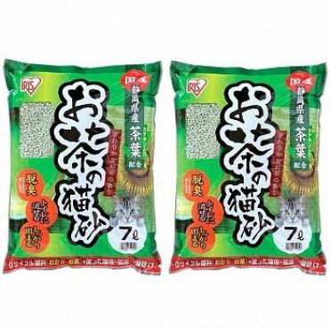 IRIS日本靜岡綠茶豆腐貓砂OCN-70N 7L X 2包
