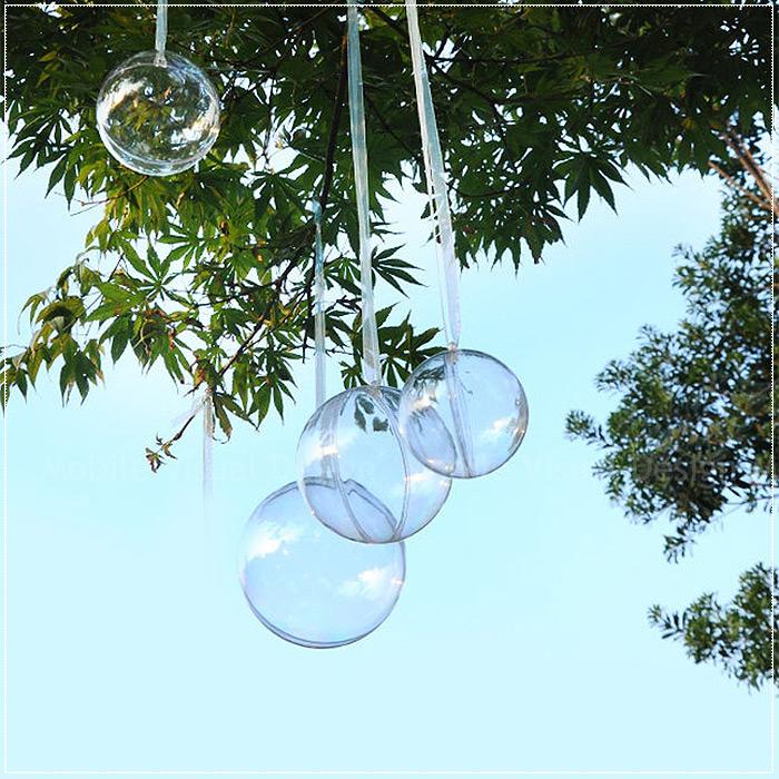 【純透明空心圓形球(6cm直徑)】-DIY圓球殼材料 吊飾圓球 喜糖盒 食品包裝 糖果盒