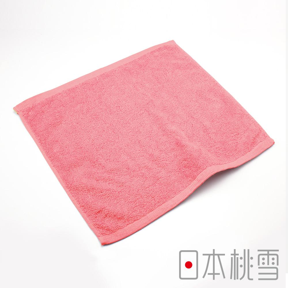 日本桃雪飯店方巾(珊瑚紅)