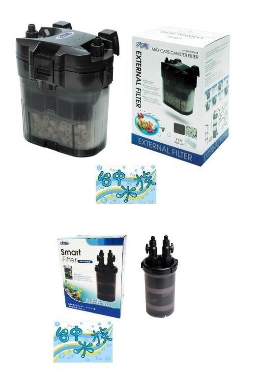 台中水族台灣ISTA迷你圓桶過濾器360L H智慧型過濾桶特價