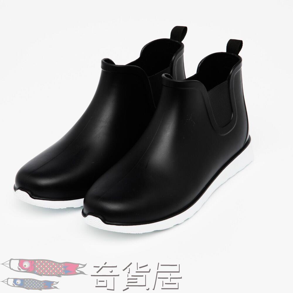 低筒雨靴水靴防滑膠鞋防水鞋雨鞋男