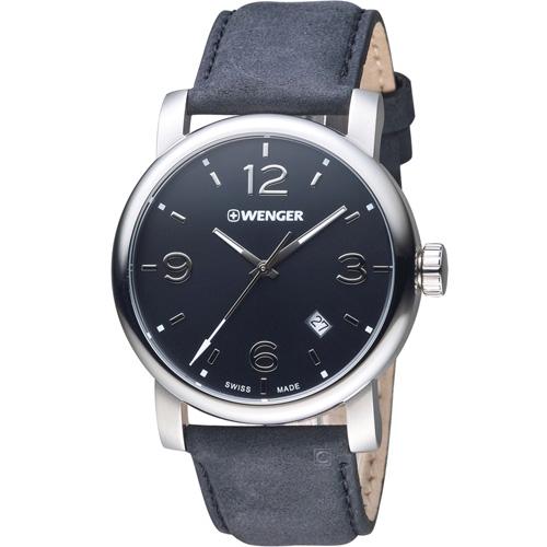 瑞士WENGER Urban 都會系列 都市美學紳士腕錶 01.1041.127