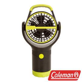 Coleman BATTERYLOCK杯架風扇萊姆綠電風扇迷你風扇小吊扇CM-27313