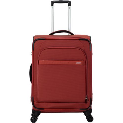 COSSACK LEADING領航系列布箱可加大行李箱登機箱20吋-磚紅色