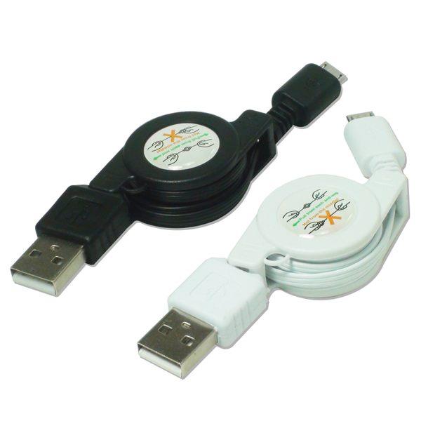 ▼Micro USB 伸縮充電線/傳輸線/充電線 / Samsung /HTC/SONY/LG /NOKIA/小米/紅米