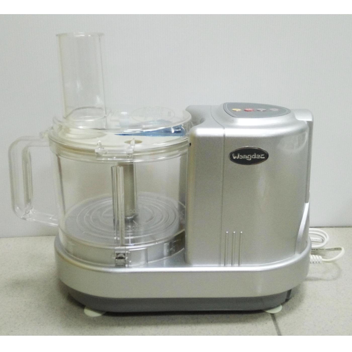 Wongdec王電料理專家廚中寶專業型果菜料理機WO-6001P-果汁機冰沙機絞碎麻糬
