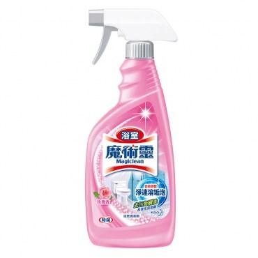 魔術靈浴室清潔劑玫瑰噴500 12 S