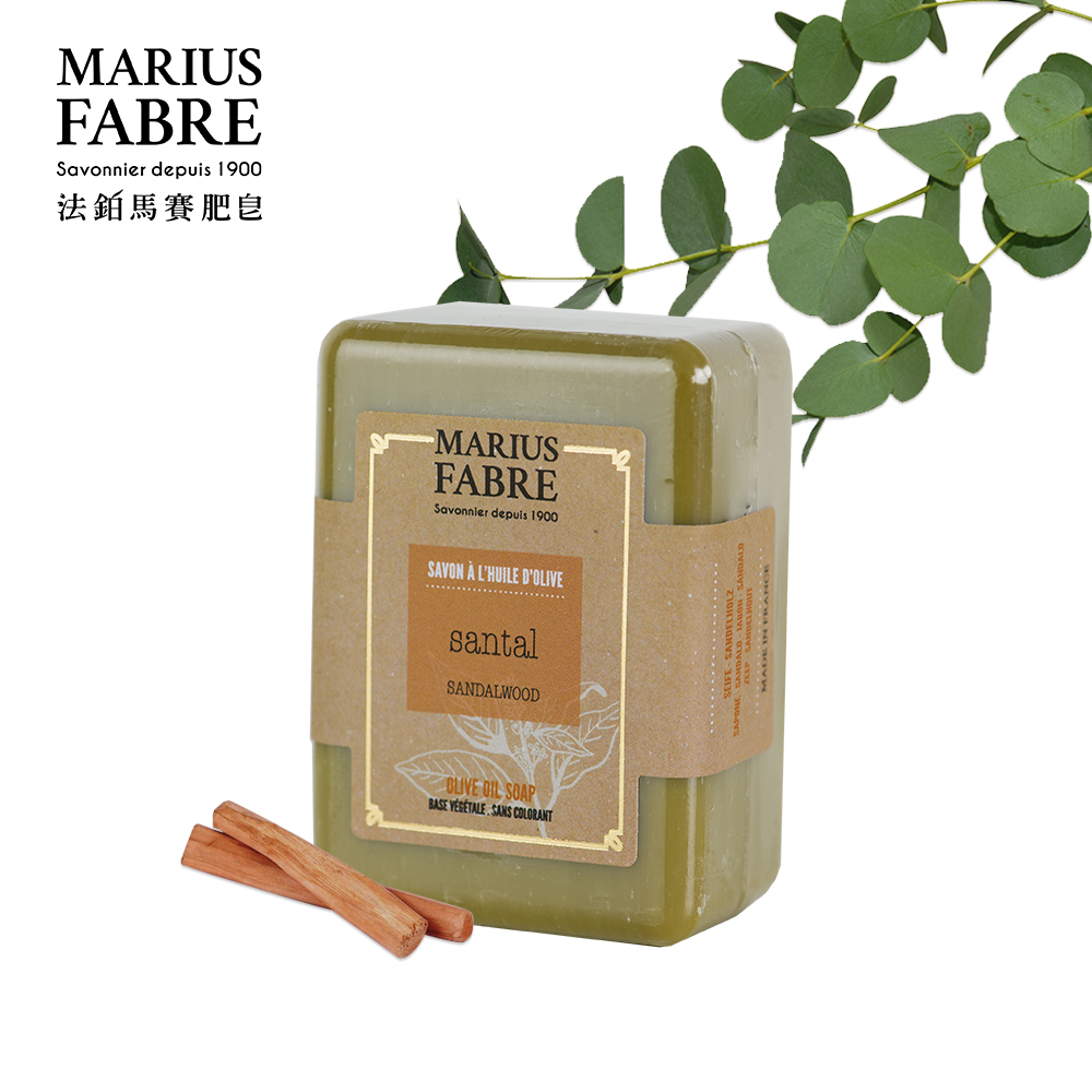 法國法鉑-檀香橄欖草本皂/150g