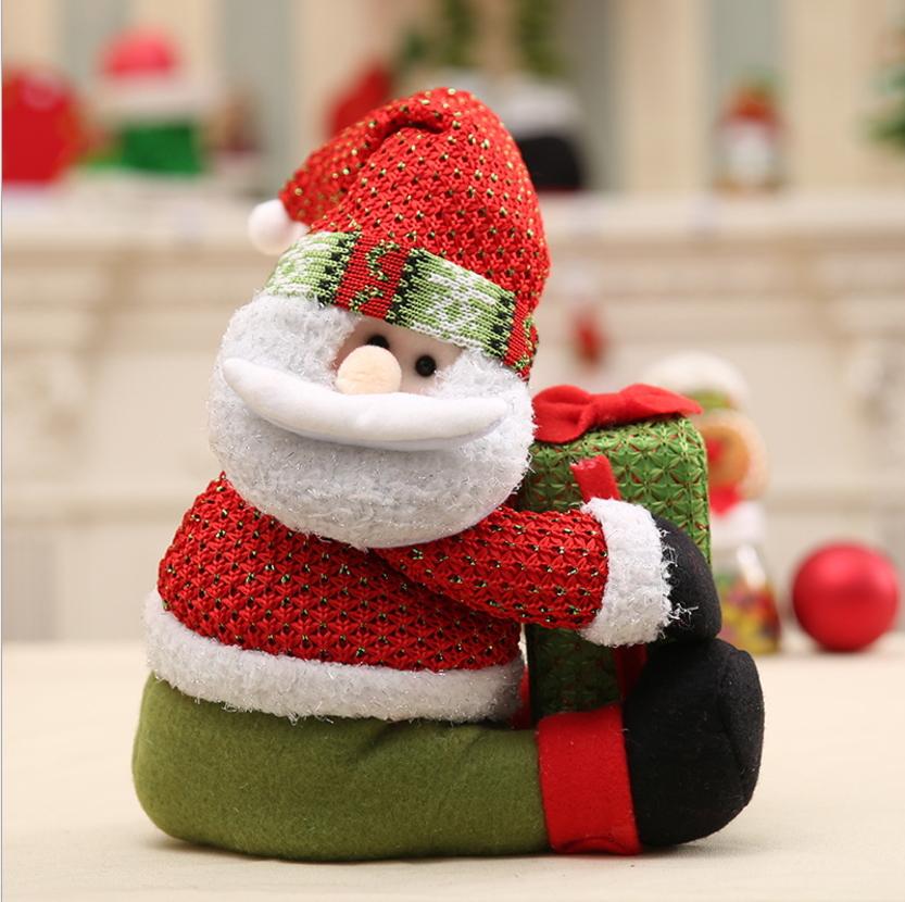 聖誕老人公仔布偶娃娃玩偶兒童聖誕節生日禮物商超市場櫥窗場地擺預購CH2523
