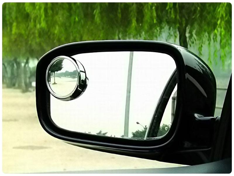 後視小圓鏡2入盲點照後鏡汽車圓形盲點鏡輔助鏡倒車鏡反光鏡凸面廣角鏡廣角後視鏡