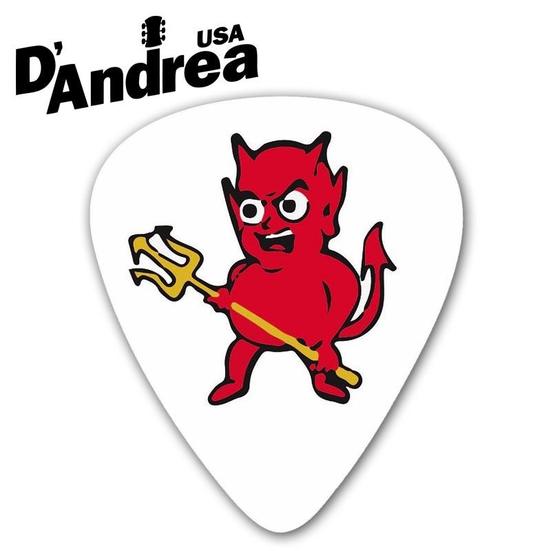 小叮噹的店- PICK 彈片 美國 D Andrea Ace Devil RDE351 兩種規格