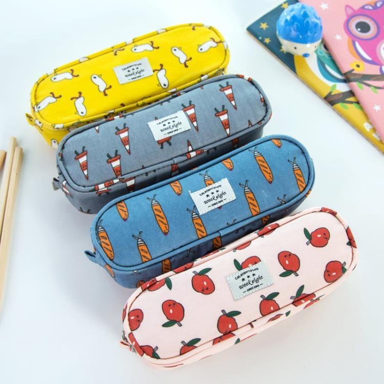 [超豐國際]大容量防水筆袋韓版文具袋 兒童鉛筆袋中學生文具盒鉛筆