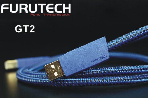 勝豐群新竹音響Furutech古河GT2 USB數位訊號線傳輸線1.2M