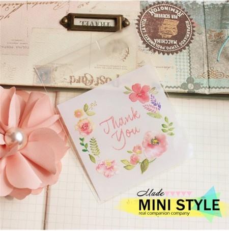 [Mini style] 包裝袋 禮物袋 聖誕節 禮品 自黏袋 糖果袋 禮物袋 1包 餅乾袋 點心袋 交換禮物