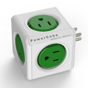 PowerCube擴充插座綠色