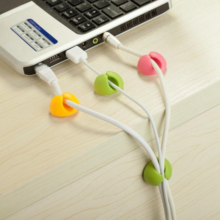 桌面固線器 耳機 傳輸線 充電線 收納捲線 整線 N06