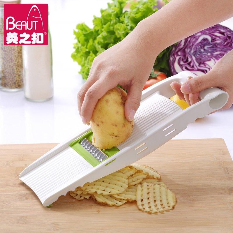 切菜器多功能擦刨土豆絲切絲器家用廚房切片刨絲器帶護手