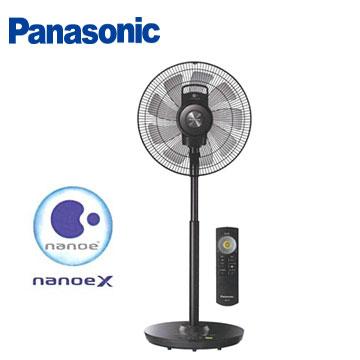 母親節★Panasonic 國際牌14吋 nanoeX DC直流節能電風扇 立扇 F-H14EXD-K◎順芳家電◎