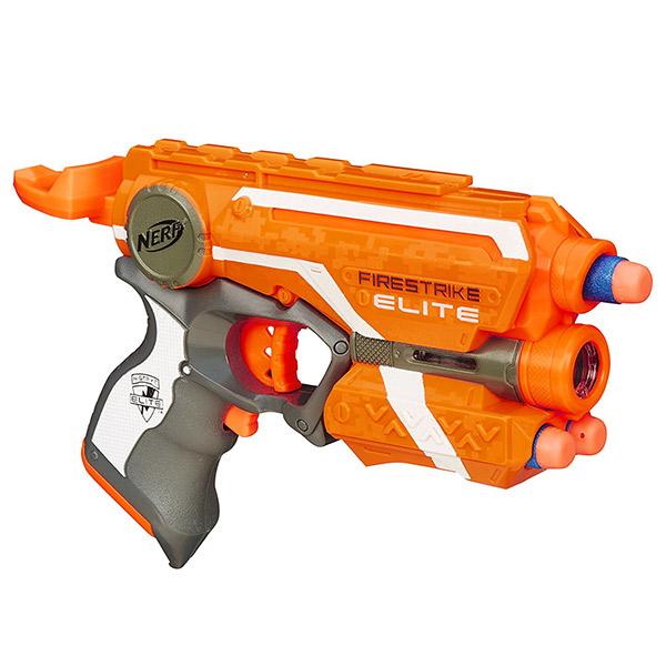 NERF兒童射擊玩具 孩之寶Hasbro 夜襲者紅外線衝鋒槍 53378