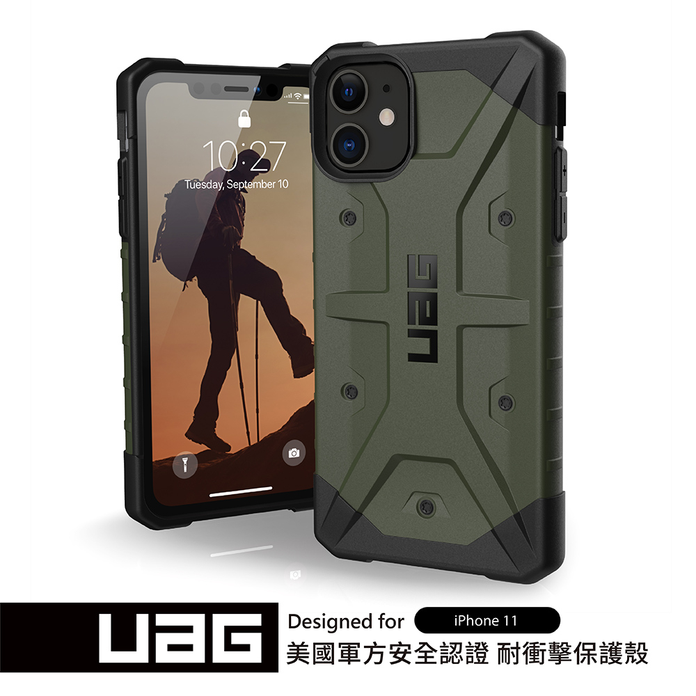 UAG iPhone 11 耐衝擊保護殼-綠