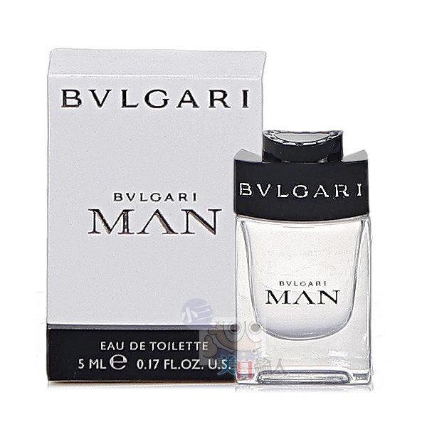 BVLGARI 寶格麗 MAN 當代男性小香水(5ml)【小三美日】