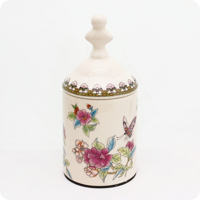 歐風經典陶瓷冰裂紋復古奢華罐糖果罐收納罐雅典娜家飾