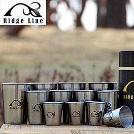 丹大戶外Ridge Line韓國不鏽鋼套杯12件組高級不鏽鋼所制耐高溫堅固容易清洗