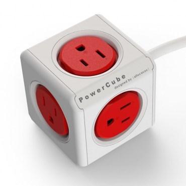 PowerCube延長線1.5M紅色