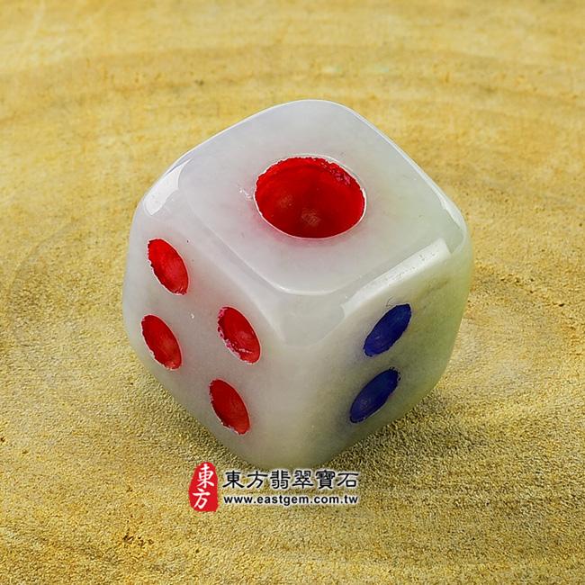 翡翠骰子項鍊玉珮鴻運當頭:骰子牌A貨翡翠骰子玉珮緬甸玉骰子玉墜超細豆種骰子CZ002