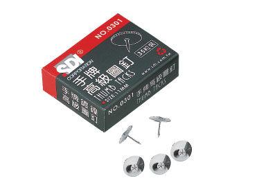 義大文具批發網~SDI 手牌 0301B 高級圖釘11mm ( 35粒裝 )