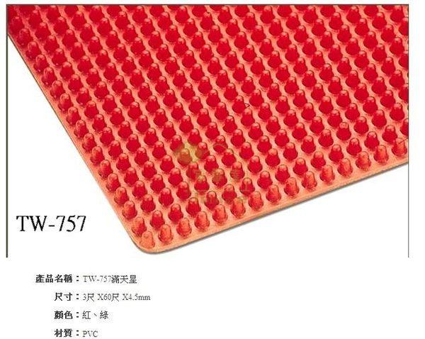 家事達台灣TW-757滿天星PVC地墊3尺X60尺*4.5mm捲