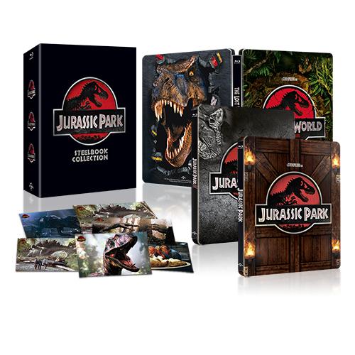 侏儸紀公園1-3 BD限量鐵盒Jurassic Park Ultimate Trilogy Steelbook