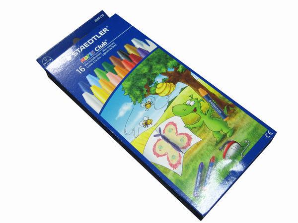 德國STAEDTLER施德樓兒童用天然蜂蠟筆蜜蠟筆16色
