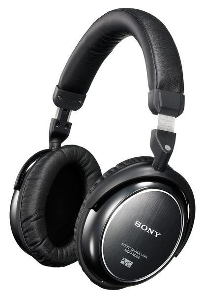 展示出清SONY降噪型摺疊式耳罩耳機MDR-NC60摺疊設計特殊耳罩式設計飛機上可使用