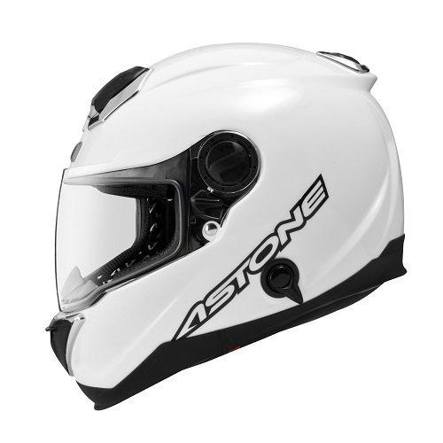 東門城ASTONE GT1000F碳纖維素色白碳纖維全罩式安全帽